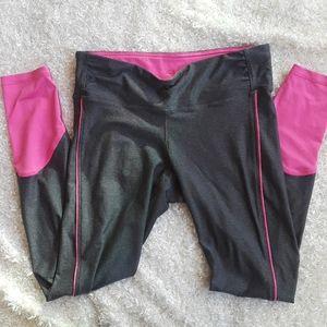 Medium Champion gray pink full length leggings
